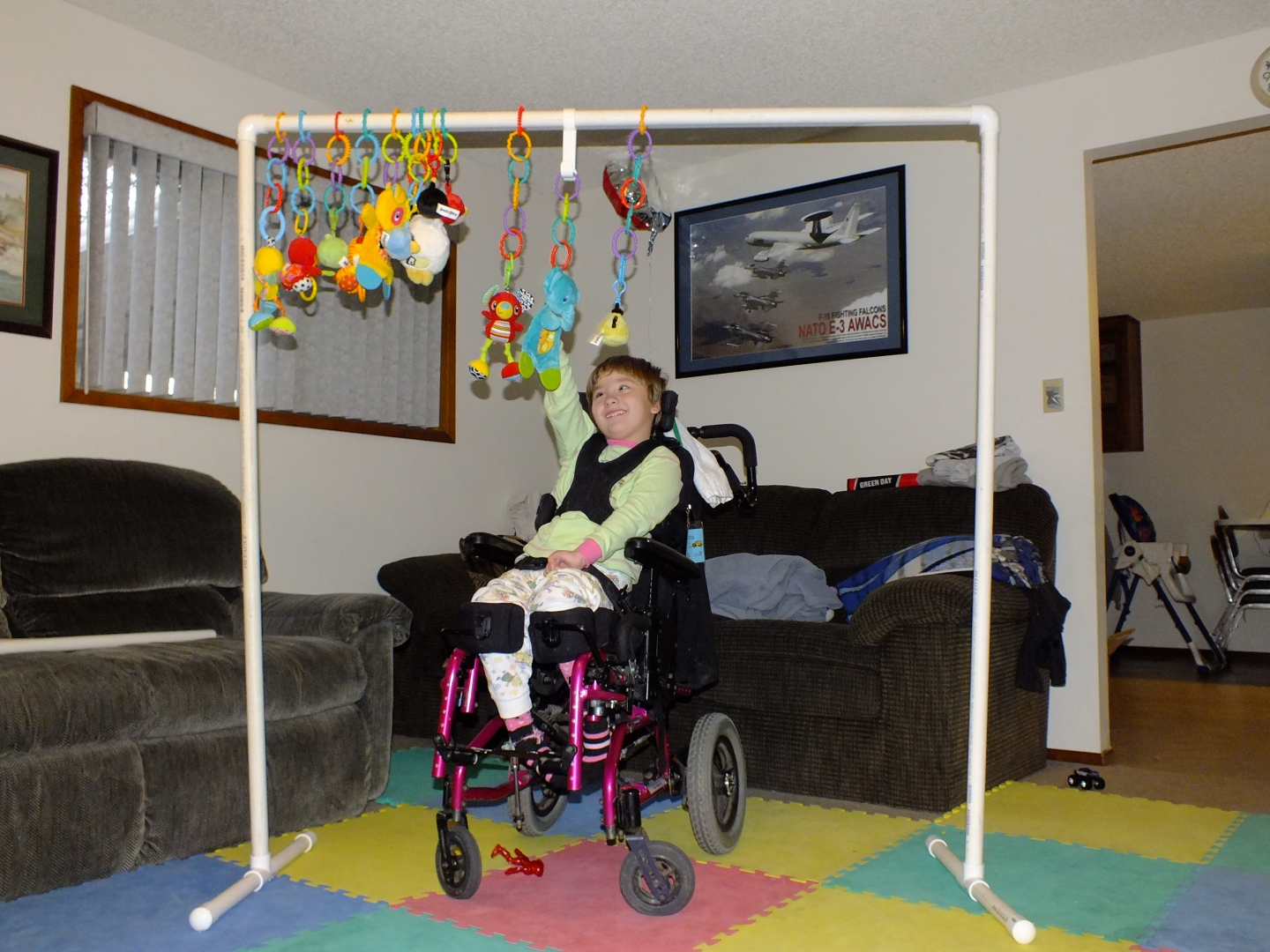 2 Kids W Cerebral Palsy And Blind